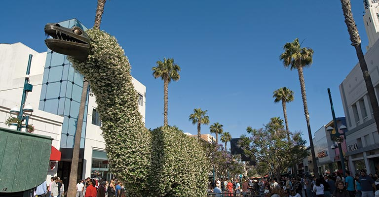 Third Street Promenade in Santa Monica