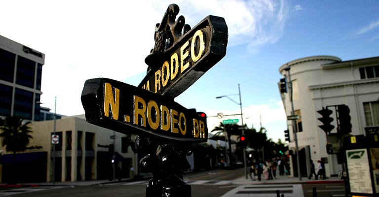 Rodeo Drive in Bevelry Hills
