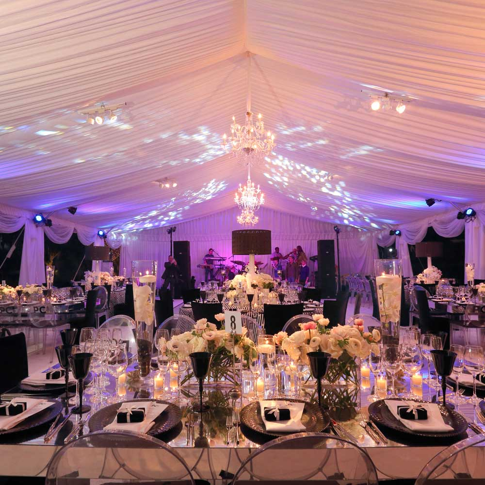 South Florida Party Rentals | Regency Party Rental & Productions