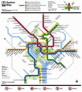 Dc Metro Traffic Map.Metro Subway Washington Dc Holiday Inn Washington Dc Central