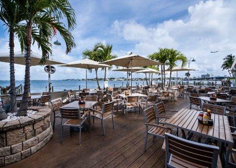 Shuckers Waterfront Grill Miami Beach Florida