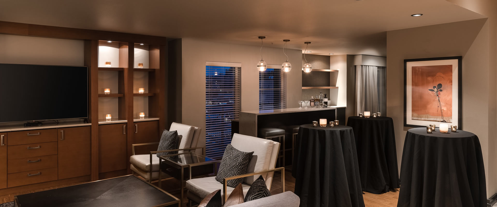Heathman Suite Reception