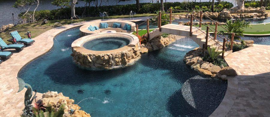 South Florida Pool Builders Pool Tek Of The Palm Beaches Pool Renovations