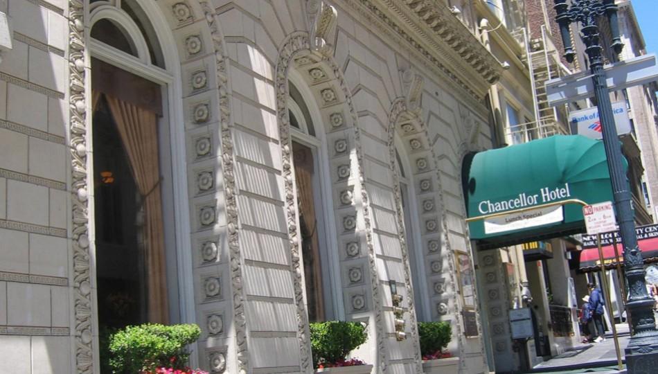 San Francisco Boutique Hotels   Chancellor Hotel San Francisco