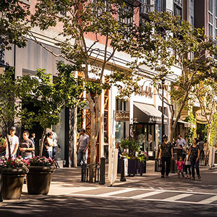 Santana Row San Jose, CA shopping