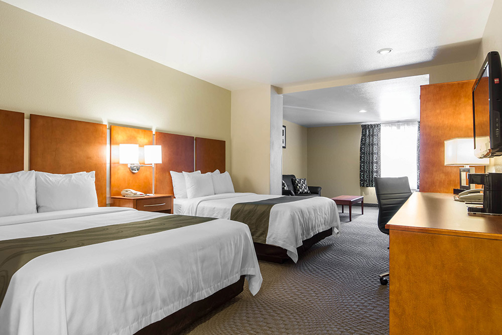 San Jose Silicon Valley hotel 2 beds wifi