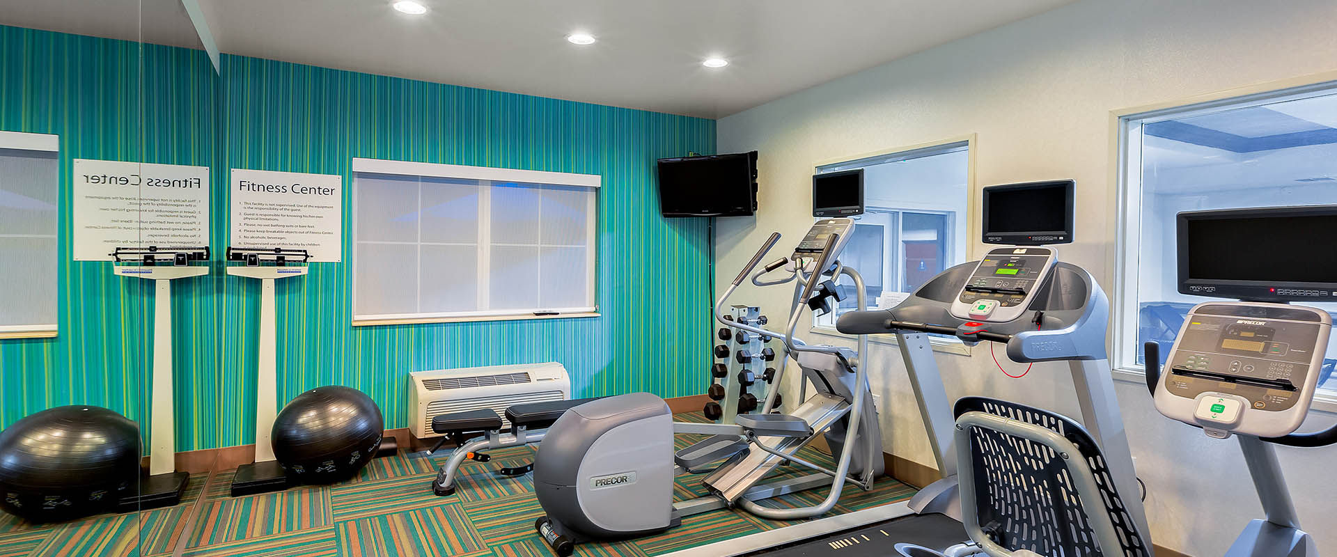 IHG hotel, Oroville, California, coporate, travel, fitness center