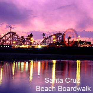 Santa Cruz CA Beach Boardwalk