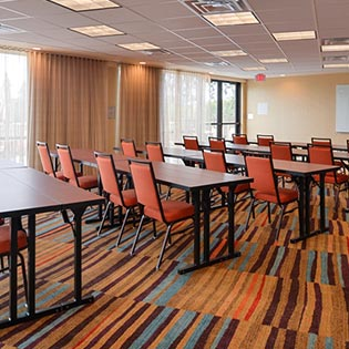 Hotel Meeting Room conference room Marriott Santa Cruz California
