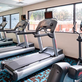 Marriott Santa Cruz California hotel fitness center