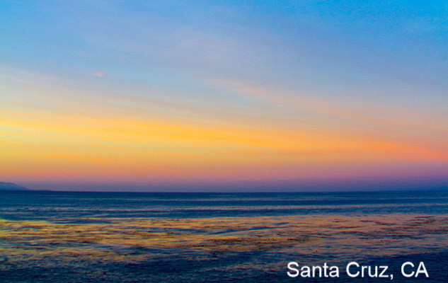 Santa Cruz, California beach