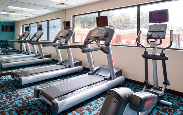 Santa Cruz hotel fitness center